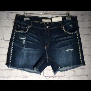 Est.1946 Cato Women's Size18 Denim BlueJean Shorts